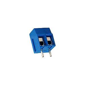 Borne Azul KRE2 KF-301 2 Terminais 180 Mini