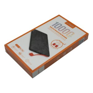 Carregador Portátil Kaidi Power Bank KD-951 10000mAh Preto