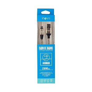 Cabo USB x USB-C Inova CBO-7290 (2 Metros)