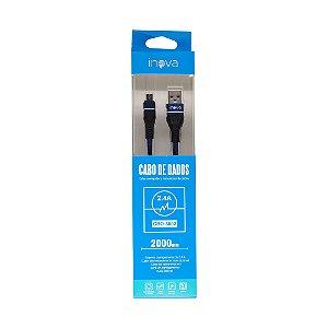 Cabo USB x Micro USB Inova CBO-5802 (2 Metros)