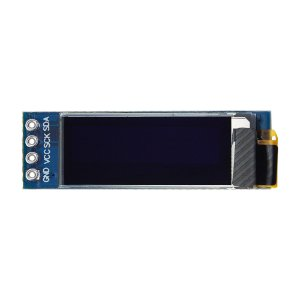 "Display OLED 128x32 Px - 0.91"" - 4 Pin - Branco"
