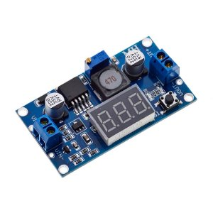 Módulo Regulador de Tensão LM2596 DC/DC Step Down + Display
