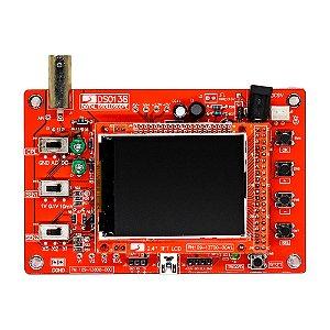 DSO138 Osciloscópio Digital DIY TFT 2.4 (Soldado)