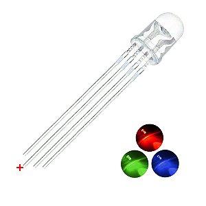 LED RGB Alto Brilho Anodo Comum
