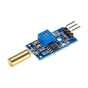 Módulo Sensor de Inclinação Tilt SW-520D