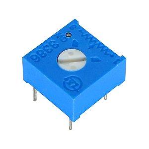 Trimpot 1 Volta 3386F F101 100R Ohms Horizontal