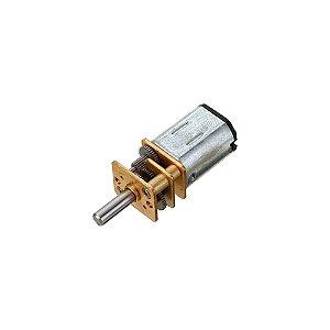Micro Motor DC N20 com Caixa de Redução 3V 50 RPM