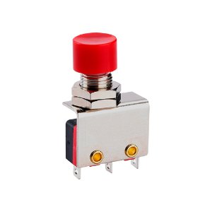 Botão Push Button Micro Switch KW11-3Z-1-105 3T 3A Vermelho