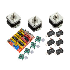 Kit CNC Shield 3 Motor Nema 17 4Kg + 4 A4988