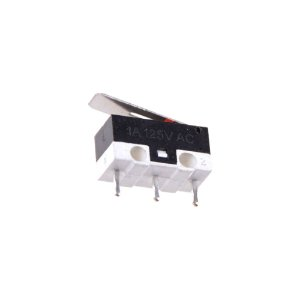 Chave Micro Switch KW10B 3T 1A 125V AC com Haste