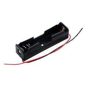 Suporte para 1 Bateria 18650 3,7V