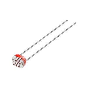 Sensor de Luminosidade LDR Fotoresistor 3mm