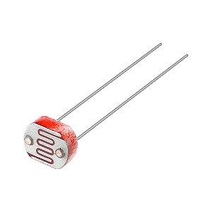 Sensor de Luminosidade LDR Fotoresistor 7mm