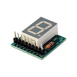 Módulo Display 7 Segmentos GBK P11