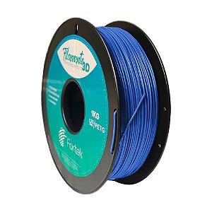 Filamento para Impressoras 3D PET-G 1Kg 1,75mm Azul