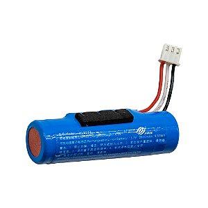 Bateria Recarregável 3,7V 18650 2600mAh Conector JST