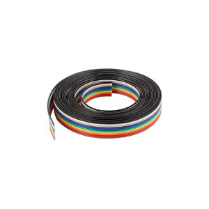 Cabo Flat Cable Ribbon Colorido 10x26 26 AWG 10 Vias 1 Metro