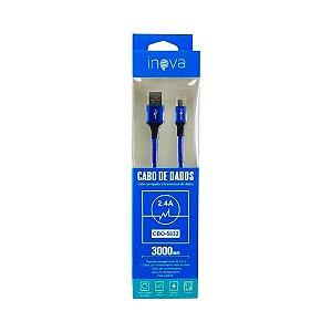 Cabo USB x Micro USB Inova CBO-5832 (3 Metros)