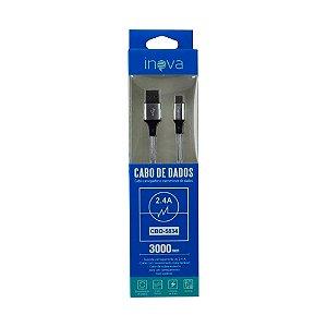 Cabo USB x USB-C Inova CBO-5834 (3 Metros)
