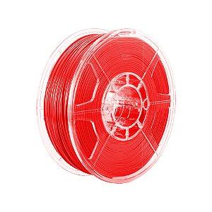Filamento Impressoras 3D PLA 1Kg 1,75mm Vermelho Translúcido