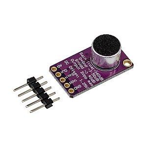 Módulo Microfone de Eletreto Amplificador AGC MAX9814
