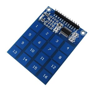 Teclado Touch Digital Capacitivo 16 Teclas TTP229