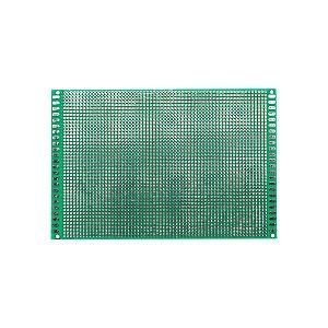 Placa de Circuito Impresso Dupla Face 120x180mm 46x65 Furos