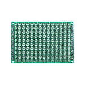 Placa de Circuito Impresso Dupla Face 120x80mm 30x42 Furos