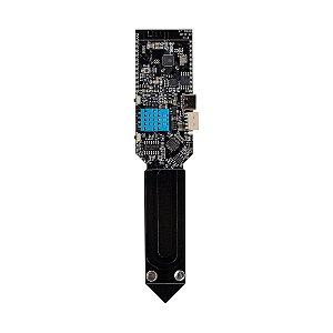 Sensor Temperatura/Umidade Solo WiFi BT ESP LILYGO T-Higrow