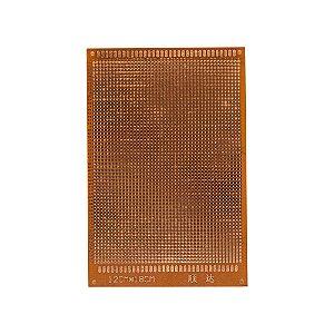 Placa de Circuito Impresso 12x18cm 44x60 Furos