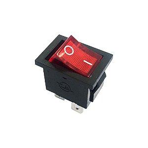 Chave Gangorra KCD1-104N Neon (Vermelho)