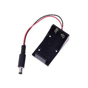 Suporte Bateria 9V Plug P4