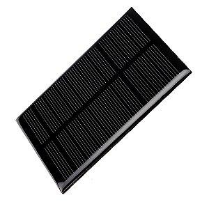 Painel Solar 5V 1W Mini Placa Fotovoltaica 110mm x 60mm