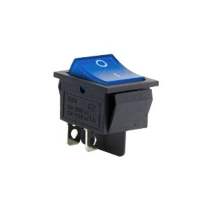 Chave Gangorra KCD4-201C 16A 250V AC (Azul)