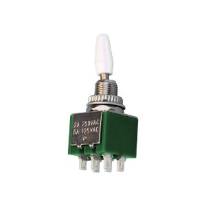 Chave Alavanca Toggle Switch 6T ON-ON KNX-2-D1 (Verde)