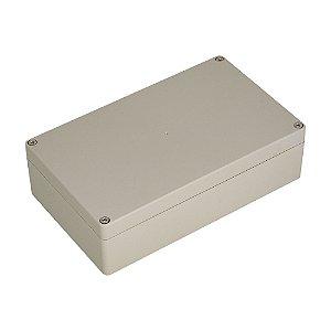 Caixa Plástica ABS 200x120x55MM (Branco)