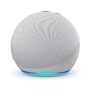 Echo Dot Smart Speaker com Alexa 4ª Geração (Branca)