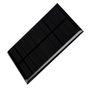 Painel Solar 6V 1W Mini Placa Fotovoltaica 110mm x 60mm