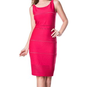 Vestido Bandagem - Rosa