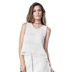 Blusa Renda - Off-white