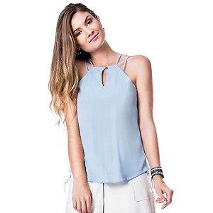Blusa Alça Glam - Azul