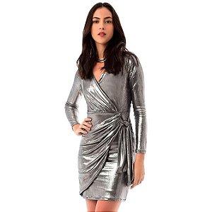 Vestido Shine - Prata