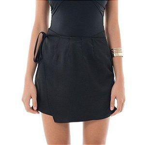 Shorts Sofisticati com Transpasse - Preto