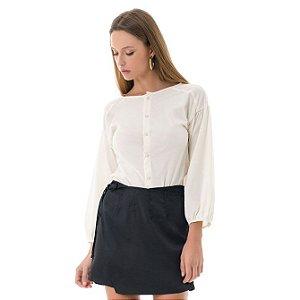 Camisa Poplin - Off-White
