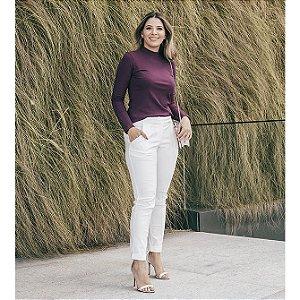 Calça Alfaiataria Portinari - Off-white
