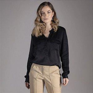 Camisa Sensualité - Preto
