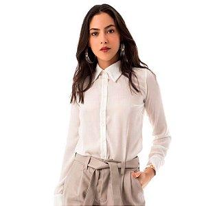 Camisa Tradicional - Off-white