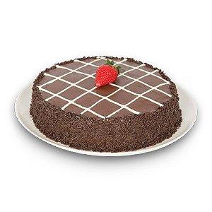 Torta de Brigadeiro com Morango