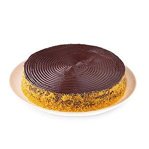 Torta de Cenoura com Chocolate