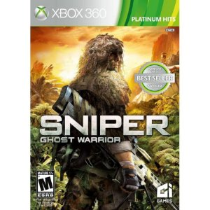 Jogo Ntsc Lacrado Original Sniper Ghost Warrior Pra Xbox 360
